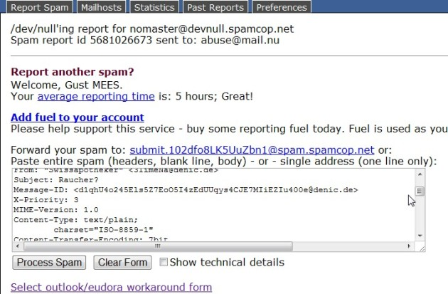 spamcop-report-spam