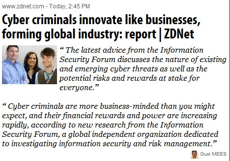 Big Business with Cyber-Crime