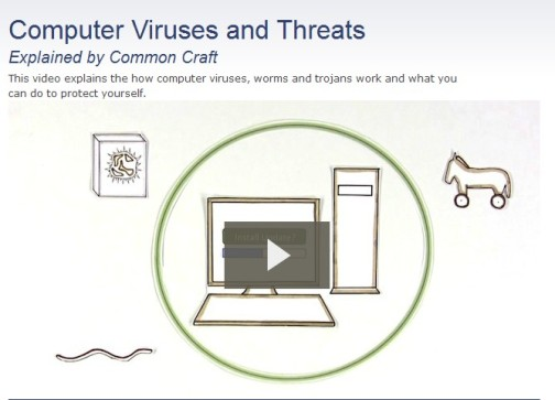 Computer Viruses and Threats from CommonCraft